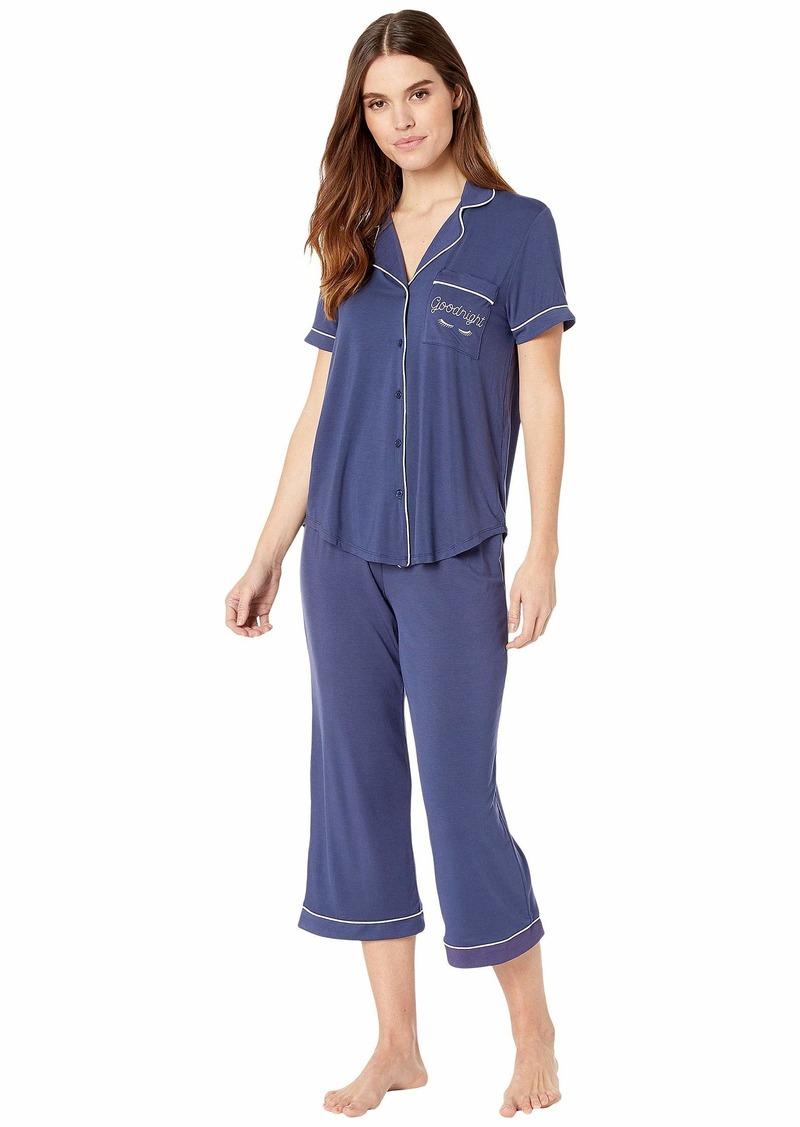 Kate Spade Goodnight Modal Jersey Capris Pajama Set
