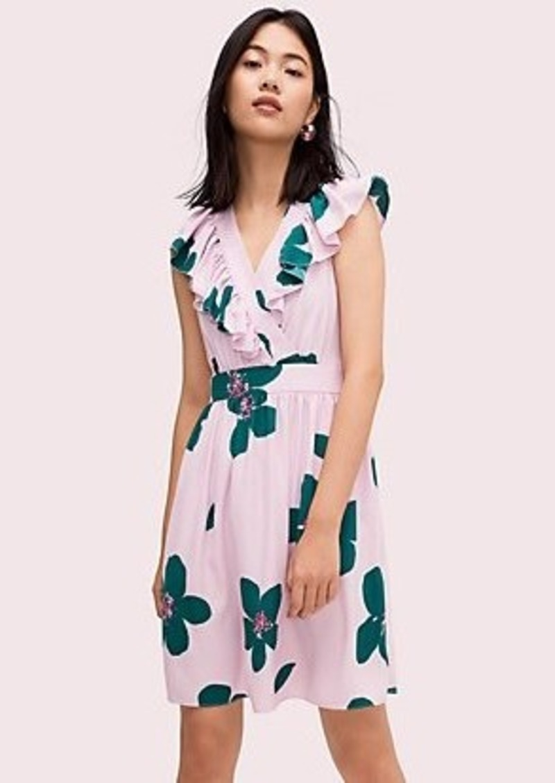 Kate Spade grand flora a-line dress