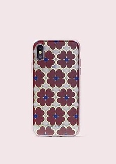 Kate Spade graphic clover iphone x & xs case