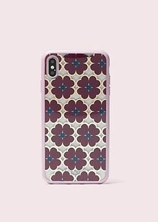 Kate Spade graphic clover iphone xs max case