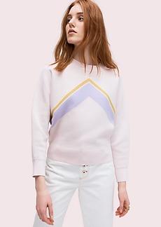 Kate Spade graphic intarsia sweater