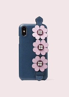Kate Spade graphic iphone x & xs handstrap stand phone case