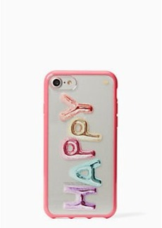 Kate Spade happy iphone 7 case