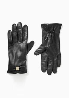 Kate Spade hardware bow tech glove