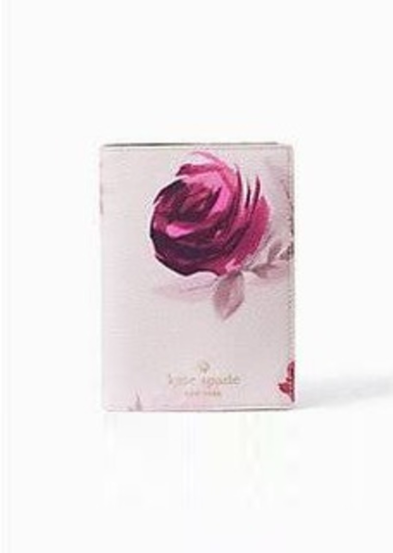 Kate Spade hawthorne lane roses passport holder