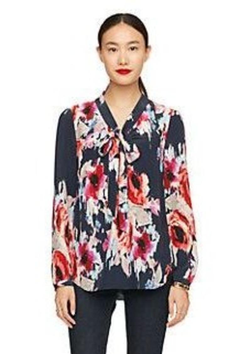 Kate Spade hazy floral reade blouse