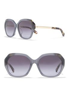 Kate Spade hello sunshine 56mm oversized sunglasses