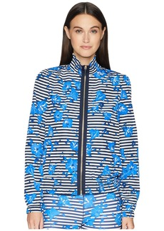 Kate Spade Hibiscus Stripe Jacket