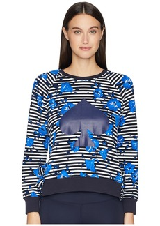 Kate Spade Hibiscus Stripe Pullover