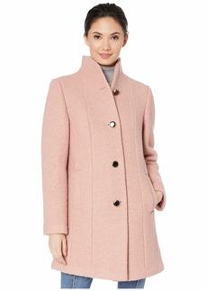 Kate Spade High Neck Long Line Coat