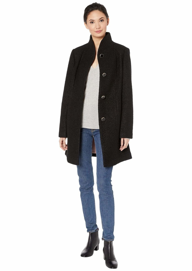 Kate Spade High Neck Long Line Coat