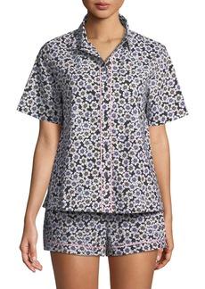 Kate Spade hollyhock short pajama set