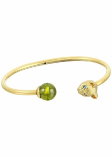 Kate Spade House Cat and Stone Cuff