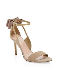 Kate Spade Ilessa Suede Stiletto Sandals