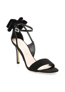 Kate Spade Ilessa Suede Stiletto Sandals