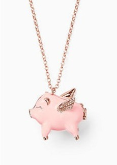 Kate Spade imagination pig locket