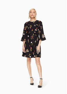 Kate Spade in bloom ruffle dress