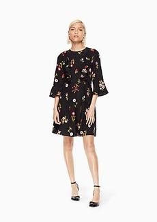 Kate Spade in bloom ruffle dress