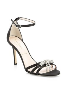 Kate Spade Ingrida Satin Stiletto Sandals