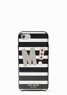 Kate Spade initial iphone 7 case