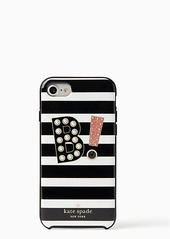Kate Spade initial iphone 7/8 case