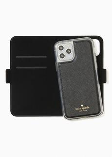 Kate Spade iphone cases glitter folio iphone 11 pro case