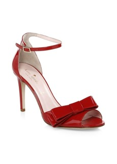 Kate Spade Ismay Leather Stiletto Sandals