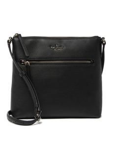 Kate Spade jackson top zip leather crossbody bag