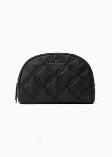 Kate Spade jae quilted medium dome cosmetic