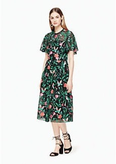 Kate Spade jardin embroidered lace dress
