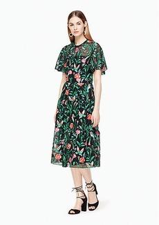 Kate Spade jardin embroidered lace dress