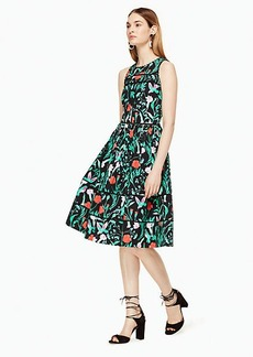 jardin poplin dress
