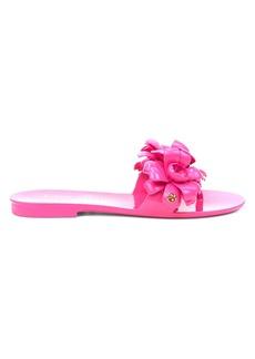 Kate Spade Jaylee Floral Appliqué Jelly Slides