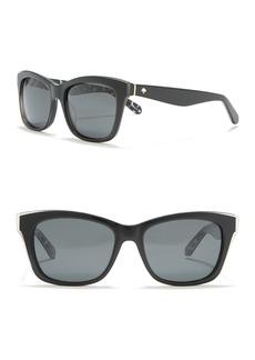 Kate Spade jenae 53mm square sunglasses