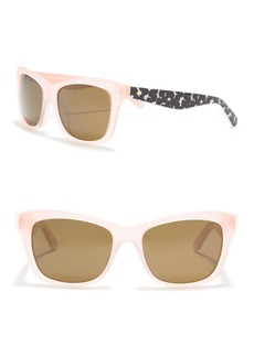 Kate Spade jenae 53mm square sunglasses