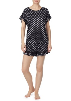 Kate Spade jersey shorty pajama set