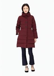 Kate Spade jewel button puffer coat