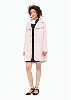 Kate Spade jewel button wool coat