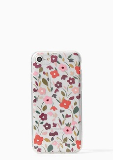 Kate Spade jeweled boho floral clear iphone 7/8 case
