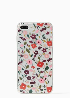 Kate Spade jeweled boho floral clear iphone 7/8 plus case