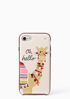 Kate Spade jeweled camel iphone 7 case