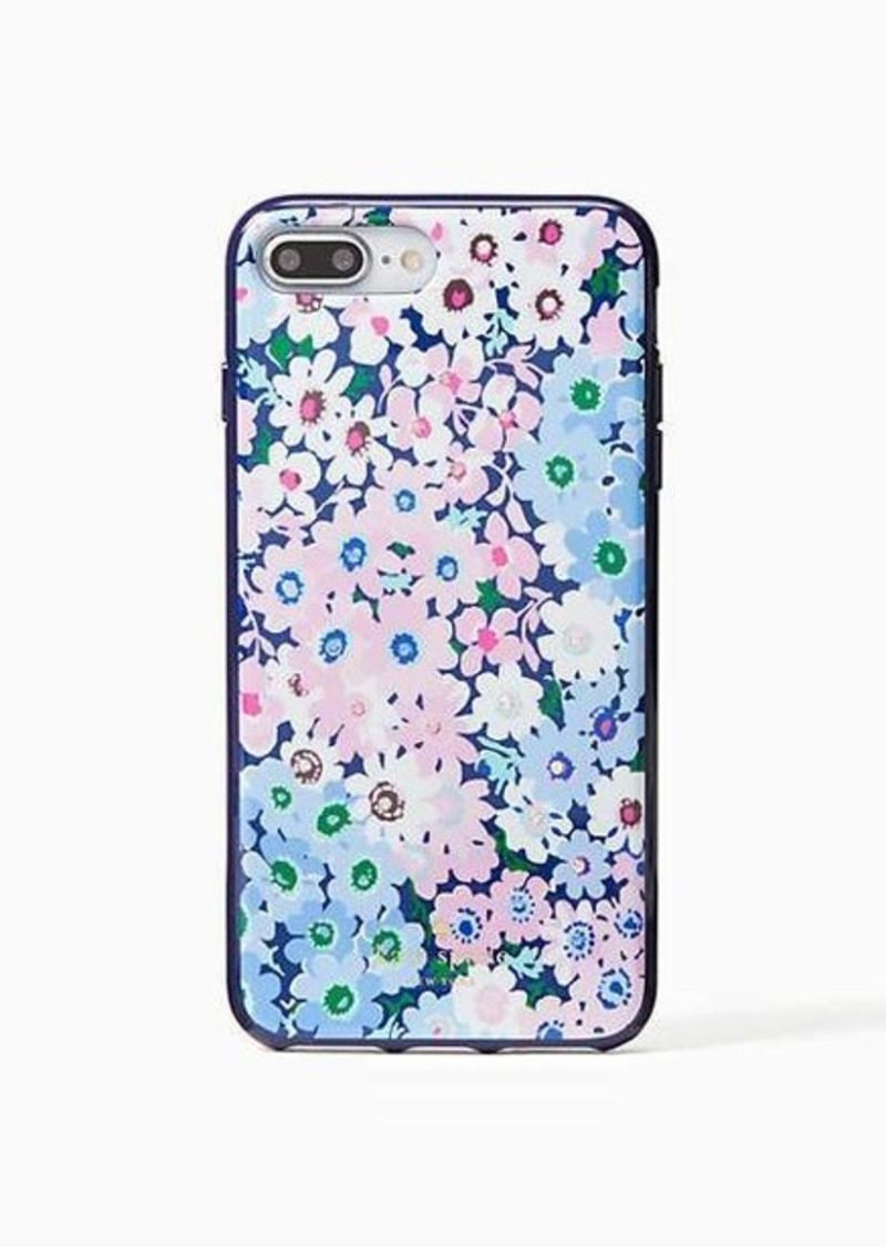 best sneakers 2a9cf c7bc8 jeweled daisy garden iphone 7 & 8 plus case