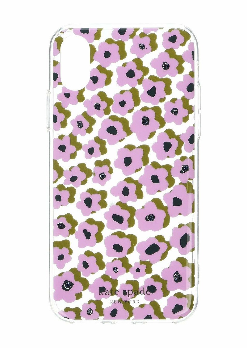 Kate Spade Jeweled Flair Flora Phone Case for iPhone XR