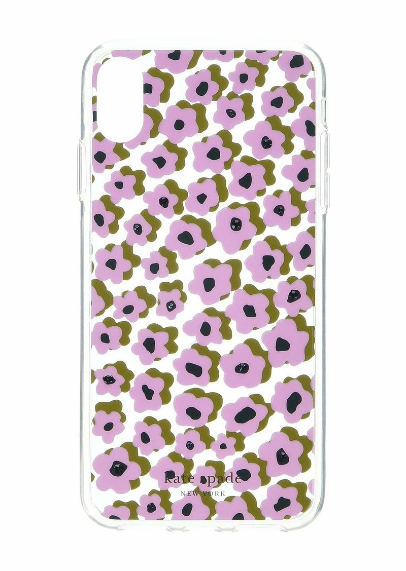 Kate Spade Jeweled Flair Flora Phone Case for iPhone XS Max