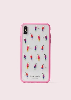 Kate Spade jeweled flock party iphone x & xs case