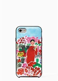 Kate Spade jeweled floral bella iphone 7 case