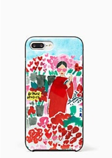 Kate Spade jeweled floral bella iphone 7 plus case