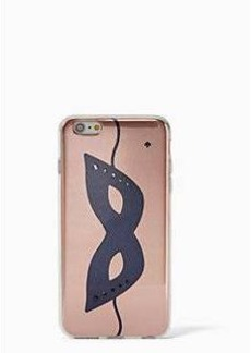 Kate Spade jeweled glitter mask iphone 6 case