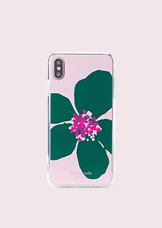 Kate Spade jeweled grand flora iphone xs max case