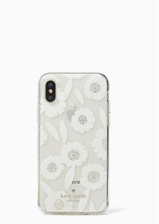 Kate Spade jeweled majorelle iphone x case
